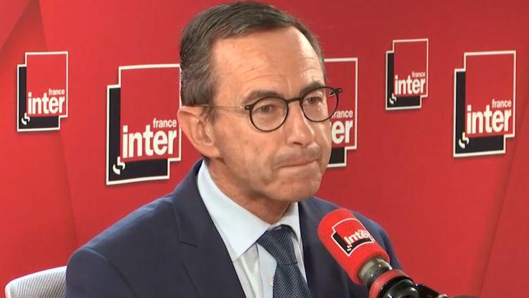 Bruno Retailleau était l'invité de France Inter jeudi 20 juin. (FRANCE INTER)
