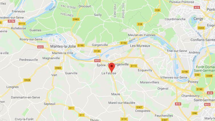 La commune de Nezel dans les Yvelines. (GOOGLE MAPS / FRANCETV INFO)