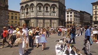 La mairie de Florence (Italie) refuse que McDonald's s'installe sur la Piazza del Duomo, classée au patrimoine mondial de l'Unesco. (GARDEL BERTRAND / HEMIS.FR / AFP)