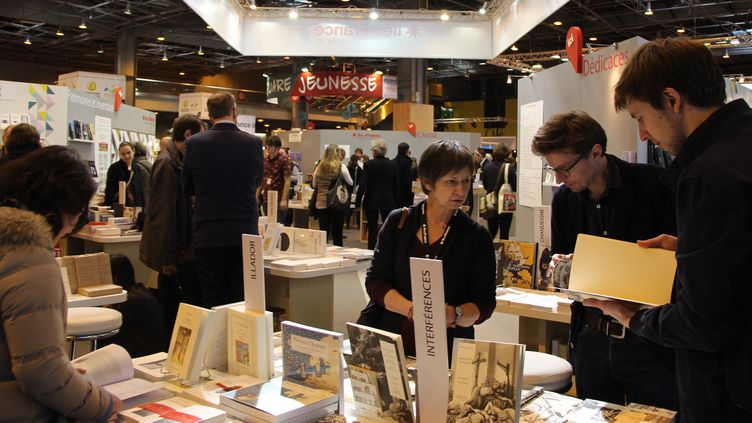36e édition du Salon livre Paris en mars 2016.  (ONUR USTA / ANADOLU AGENCY)