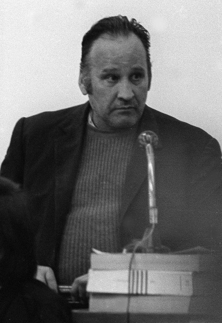 Photo non datée d'André Pauletto. Condamné à mort en mai 1981, l'homme a bénéficié de l'abolition de la peine capitale en octobre de la même année. (AFP)