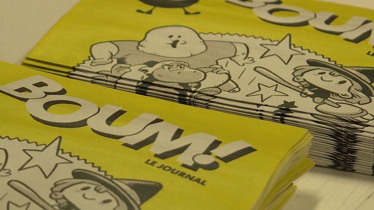 Boum ! 100%BD, gratuit, pour les enfants (France 3 PACA)