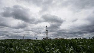 Un site d'exploration gazière, en Ukraine, près du village de Kovalivka, le 27 juin 2014. (GLEB GARANICH / REUTERS )