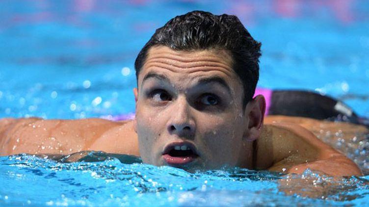 Florent Manaudou sera, avec Fédérick Bousquet, l'une des chances de médailles françaises en finale du 50m papillon