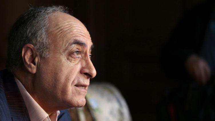 L'homme d'affaires Ziad Takieddine, le 12 avril 2013 à Paris. (JACQUES DEMARTHON / AFP)