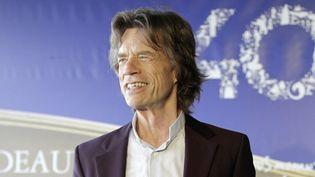 Mick Jagger à Deauville, ce vendredi  (AFP PHOTO / CHARLY TRIBALLEAU)