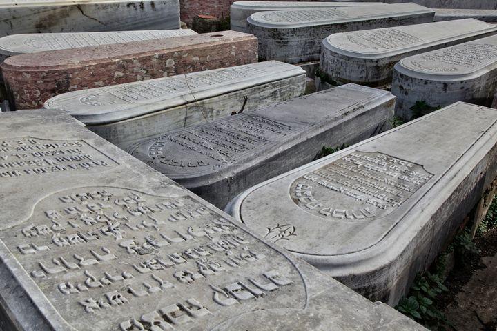 Cimetière juif de Tanger (nord du Maroc), où sont enterrés les nombreux juifs expulsés d'Espagne et du Portugal entre les XVe et XVIe siècles. (CREATIVE TOUCH IMAGING LTD / NURPHOTO)