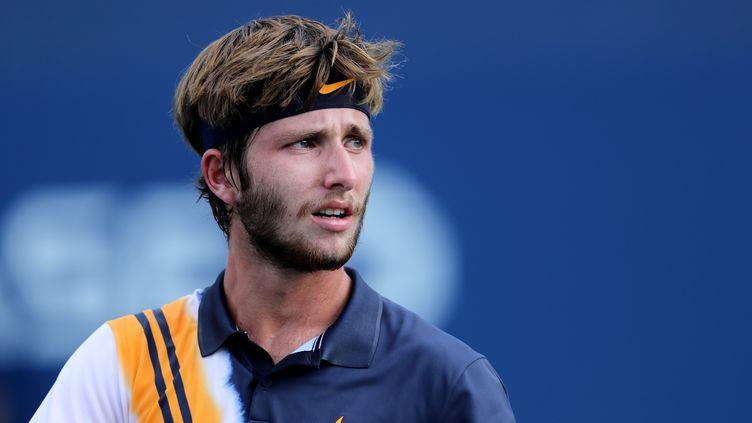 Corentin Moutet, joueur de tennis français, vient de sortir un EP. (ELSA / GETTY IMAGES NORTH AMERICA)