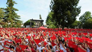 La féria de Dax (Landes), le 13 août 2015. (MAXPPP)