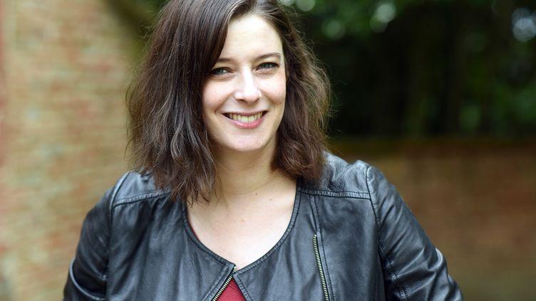 """La journaliste et romancière Maylis Adhémar, autrice de """"Bénie soit Sixtine"""", Julliard août 2020 (Rémy Gabala)"""
