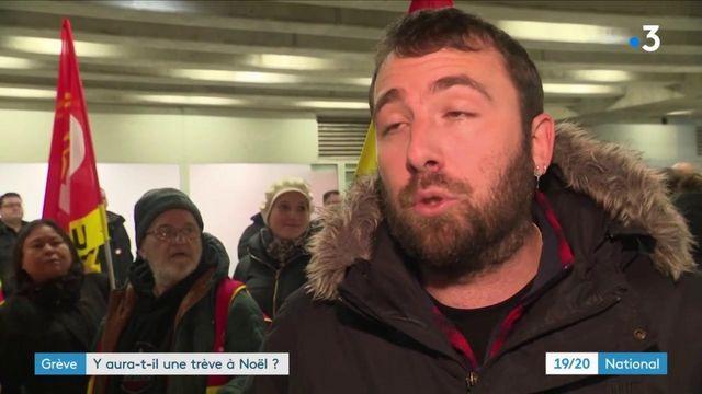 Grève contre la réforme des retraites : la CGT Cheminots opposée à une trêve pour Noël