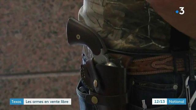 Etats-Unis : le Texas autorise le port d'une arme apparente sans permis