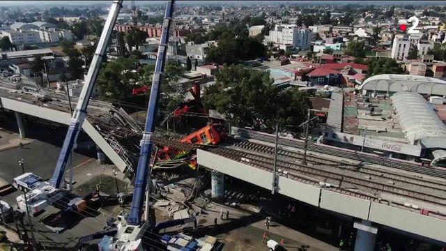 Mexique : un point aérien s'écroule et cause la mort de 23 personnes