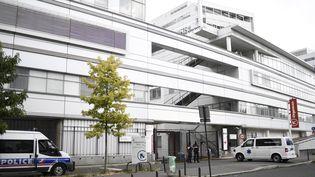 L'hôpital Georges-Pompidou, à Paris, où l'assaillant présumé de militaires à Levallois-Perret est hospitalisé depuis le 11 août 2017. (STEPHANE DE SAKUTIN / AFP)