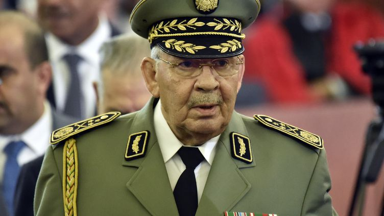 Le général Ahmed Gaid Salah (RYAD KRAMDI / AFP)