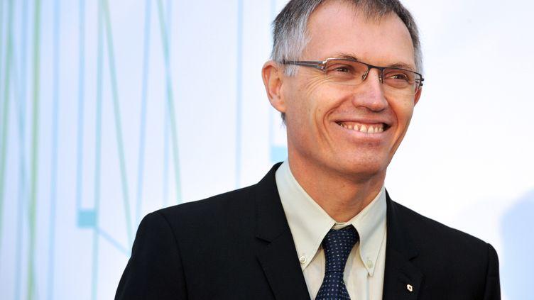 Carlos Tavares, directeur général délégué aux opérations de Renault, à Pont-l'Abbé (Finistère), le 18 décembre 2012. (FRED TANNEAU / AFP)