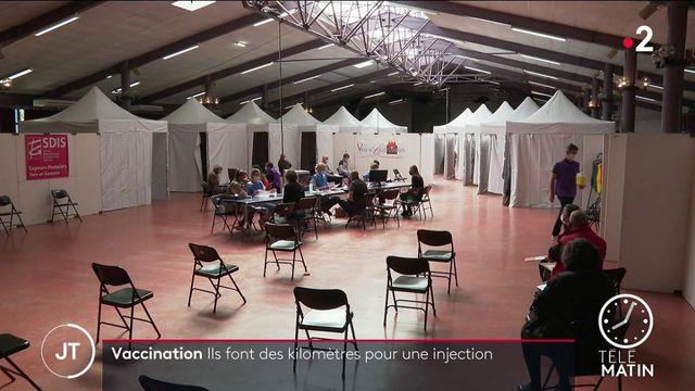 Covid-19: ces Français qui n'hésitent pas à faire des kilomètres pour une injection de vaccin
