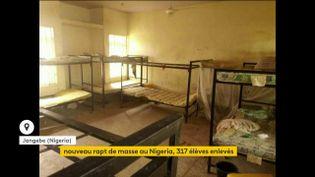 Le pensionnat des nigérianes enlevées, à Jangebe. (franceinfo)