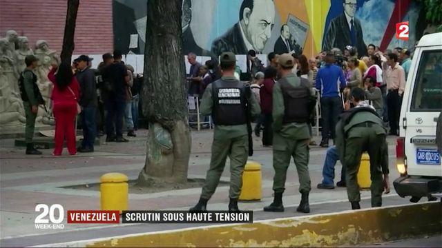 Venezuela : un vote de l'Assemblée constituante sous haute tension