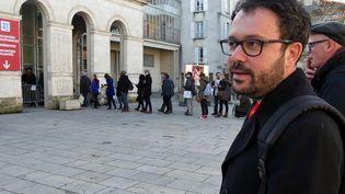 Riad Sattouf, Angoulême, avant une rencontre avec ses lecteurs  (Laurence Houot / culturebox)