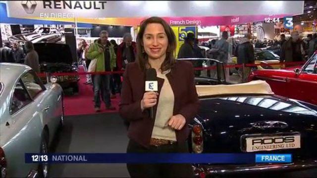 Salon rétromobile 2017 : la voiture de James Bond exposée
