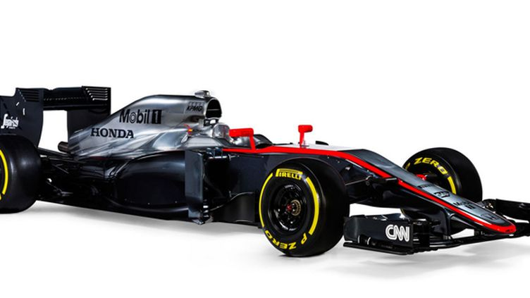 La McLaren-Honda MP4-30 en studio