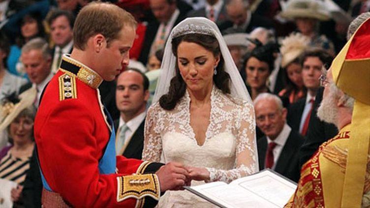 Le prince William et Catherine Middleton sont devenus mari et femme, le 29 avril 2011. (AFP/WPA POOL/ DOMINIC LIPINSKI ALTERNATIVE CROP)
