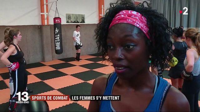 Sports de combat : les femmes s'y mettent