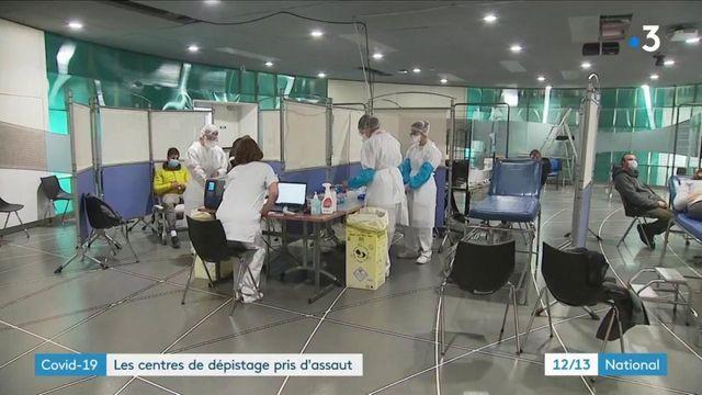 Coronavirus : les centres de dépistage pris d'assaut à Grenoble