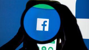 """Avec son bouton """"downvote"""", Facebookveut faciliter le signalement, par les internautes, des commentaires jugés problématiques. (TOBIAS HASE / DPA)"""