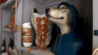 Le loup à capuche bleue de Mélanie Bourlon  (Culturebox)