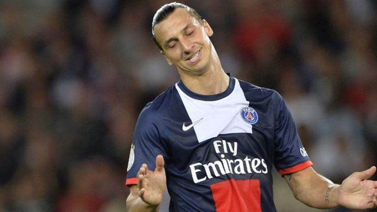 Zlatan Ibrahimovic.  (MIGUEL MEDINA / AFP)