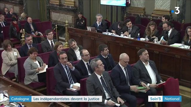 Catalogne : les dirigeants des indépendantistes jugés à Madrid