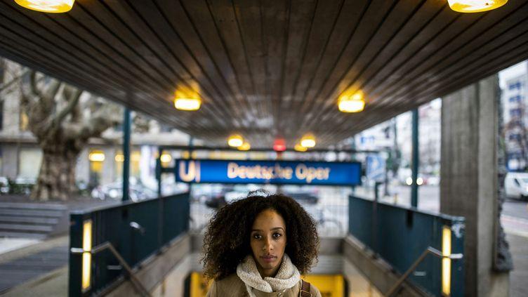 La danseuse françaiseChloé Lopes Gomes à Berlin le 7 janvier 2021 (ODD ANDERSEN / AFP)