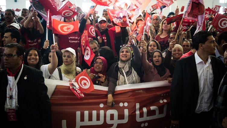 (Les Tunisiens ont été plus de 3 millions à s'exprimer lors du premier tour de l'élection présidentielle. © MaxPPP)