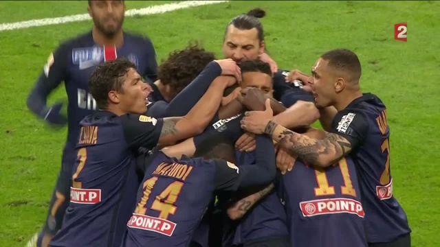 Finale de la Coupe de la Ligue : but de Pastore
