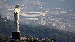 Une vue aérienne de Rio de Janeiro, le 27 juillet 2016. (RICARDO MORAES / REUTERS)
