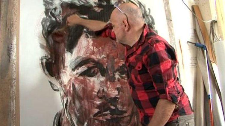 """Paul Bloas pour l'exposition """"A nos Pères""""  (France 3 / Culturebox)"""
