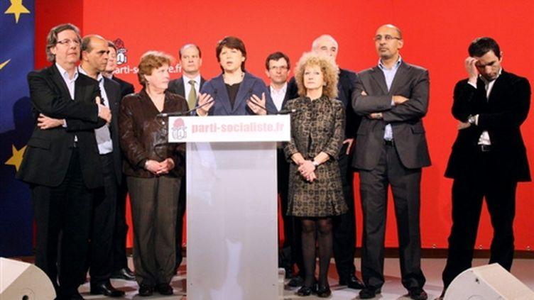 Les leaders du PS en février 2009