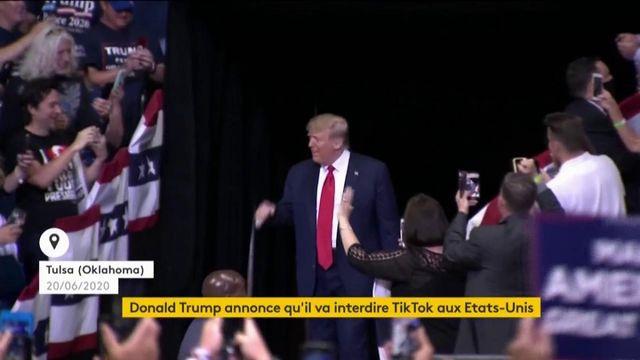 Etats-Unis : Donald Trump part en guerre contre le réseau social Tik Tok