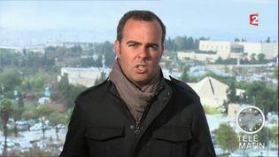 Franck Genauzeau à Alep. (France 2)