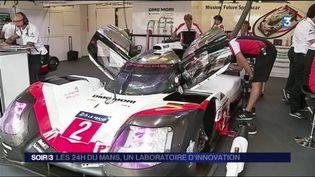 Les bolides des 24h du Mans sont des bijoux de technologie. (FRANCE 3)