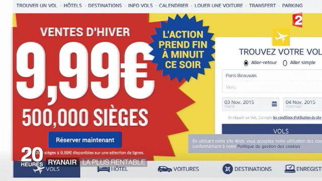 Ryanair : la compagnie aérienne affiche des bénéfices records