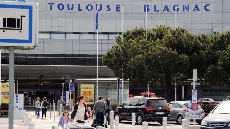 L'aéroport Toulouse Blagnac en 2015. (REMY GABALDA / AFP)