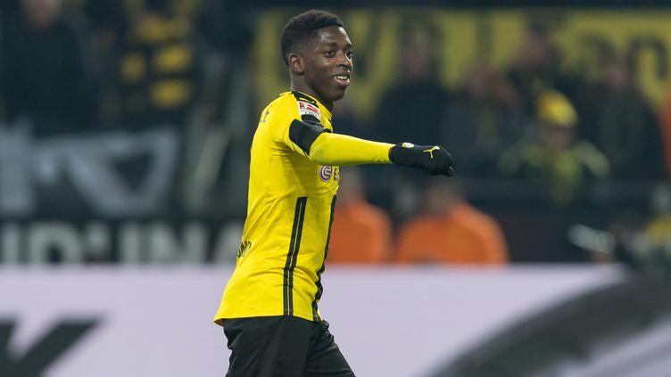 Ousmane Dembélé a été l'un des grands artisans de la victoire du Borussia (GUIDO KIRCHNER / DPA)