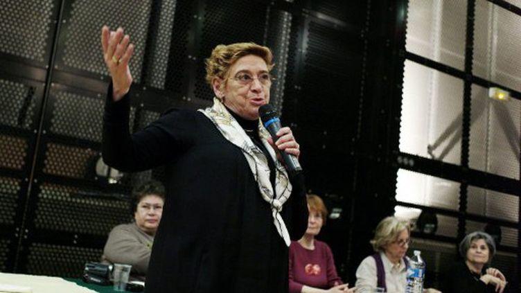 La députée Danièle Hoffman-Rispal (PS) le 10 mars 2010 à Paris (OLIVIER LABAN MATTEI / AFP)
