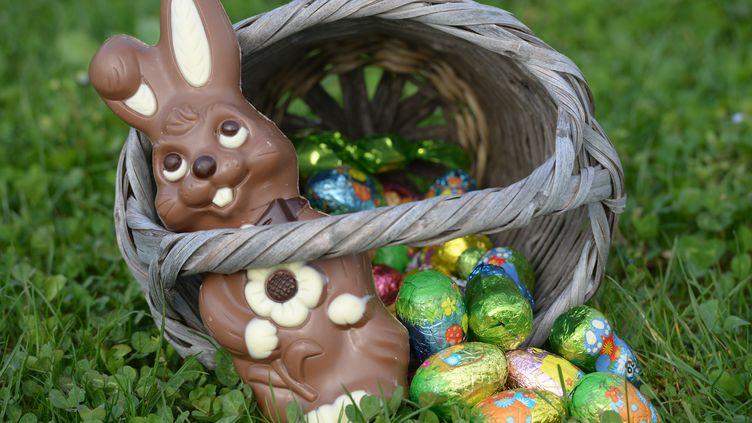 Lors des trois jours du week-end de Pâques, on consomme 54 kilos de chocolat en France chaque seconde. (MOURAD ALLILI / CITIZENSIDE.COM / AFP)