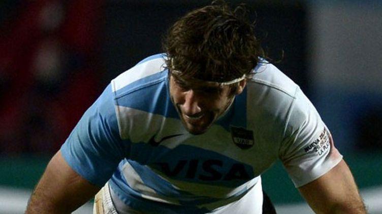 Le 3e ligne argentin Juan Martin Fernandez Lobbe