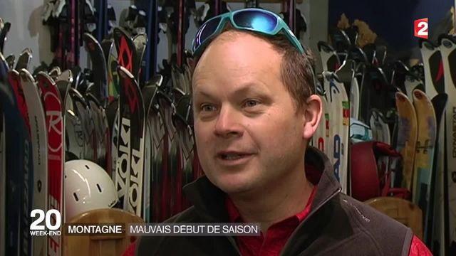 Dans les stations de ski, le manque de neige a eu des répercussions économiques