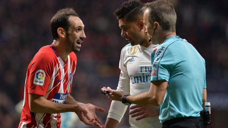 L'Atlético Madrid et le Real Madrid lors de la saison 2017/2018. (MATEO VILLALBA / NURPHOTO)
